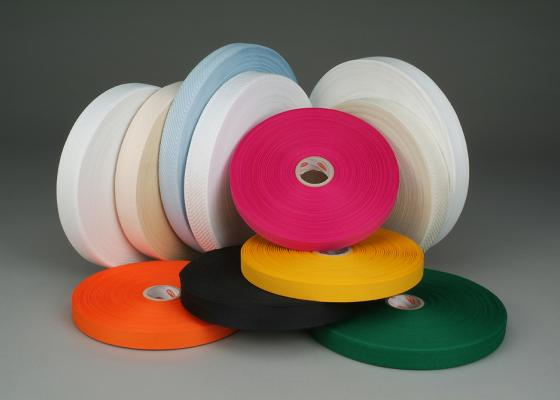 Teryl® tape with textured yarns