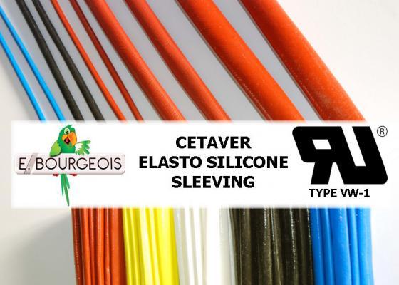 Cetaver® Elasto Silicone sleeving